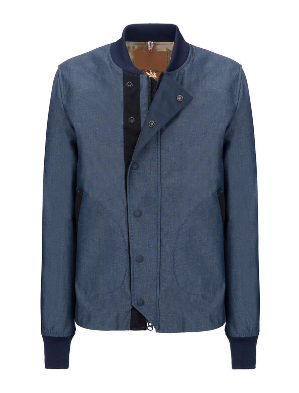 DECK JACKET_ TECH CHAMBRAY _ GF