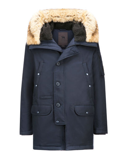 N3-B PARKA REAL FUR_TECH AVIATION CLOTH