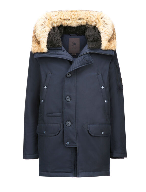 N3-B PARKA REAL FUR_TECH AVIATION CLOTH