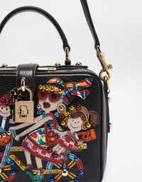 DOLCE SOFT BAG WITH DG FAMILY PATCH