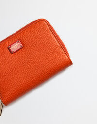 SMALL ZIP AROUND LEATHER WALLET