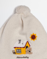 MIMMO THE DOG HAT IN CASHMERE