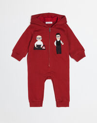 COTTON BABYGROW WITH DESIGNERS PATCH