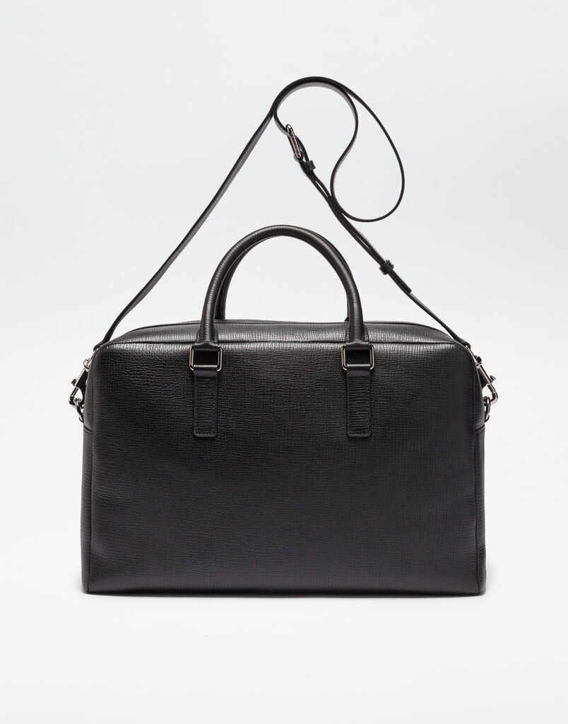 MEDITERRANEO TRAVEL BAG IN GRAINED LEATHER
