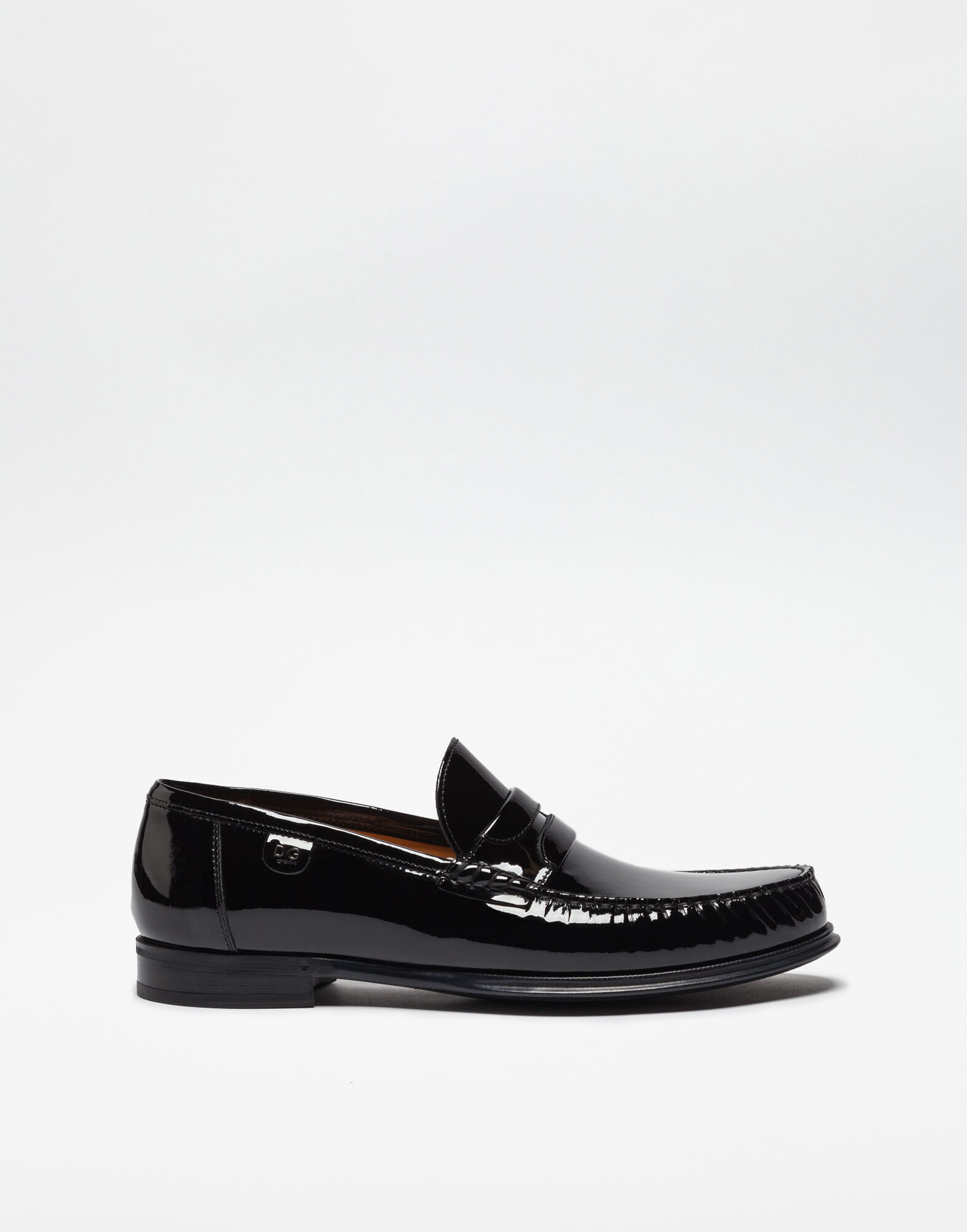 PATENT LEATHER MOCASSIN