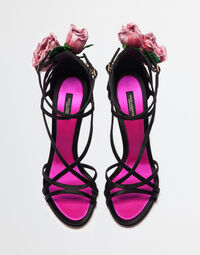 JEWEL SANDALS WITH EMBELLISHMENTS