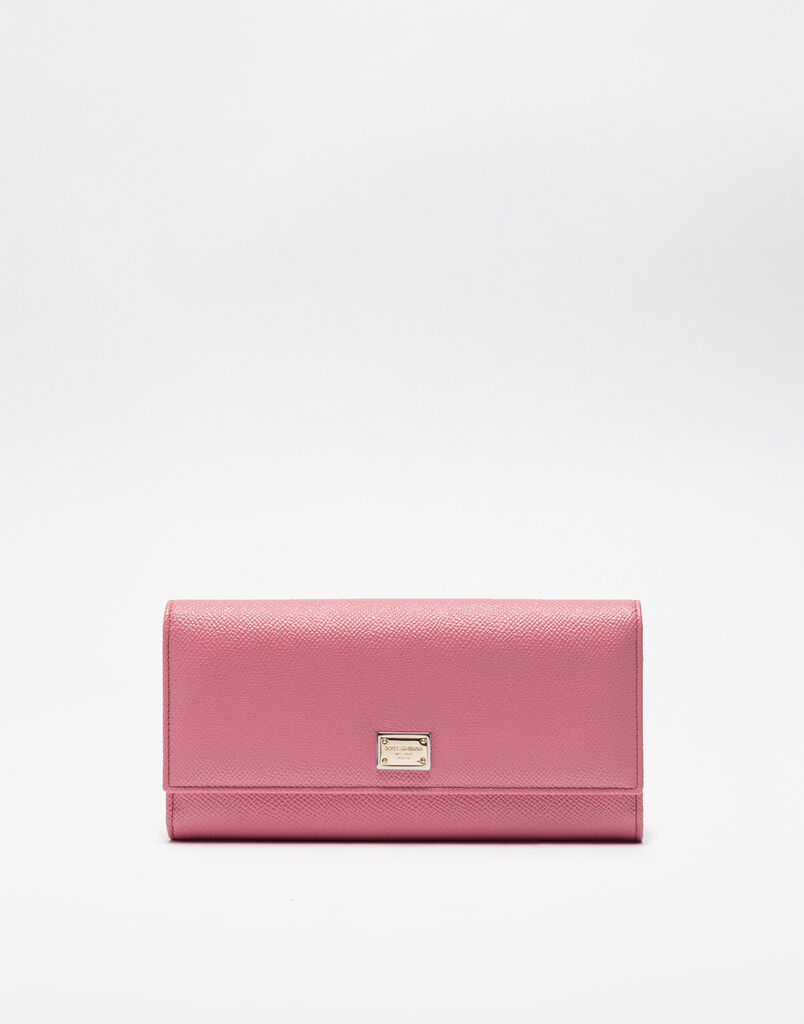 CONTINENTAL WALLET IN DAUPHINE LEATHER