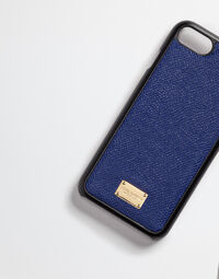 IPHONE 7 COVER WITH PRINTED DAUPHINE LEATHER DETAILS