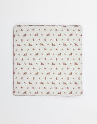 ZAMBIA BLANKET IN PRINTED COTTON
