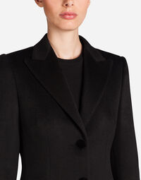 SINGLE-BREASTED CASHMERE COAT