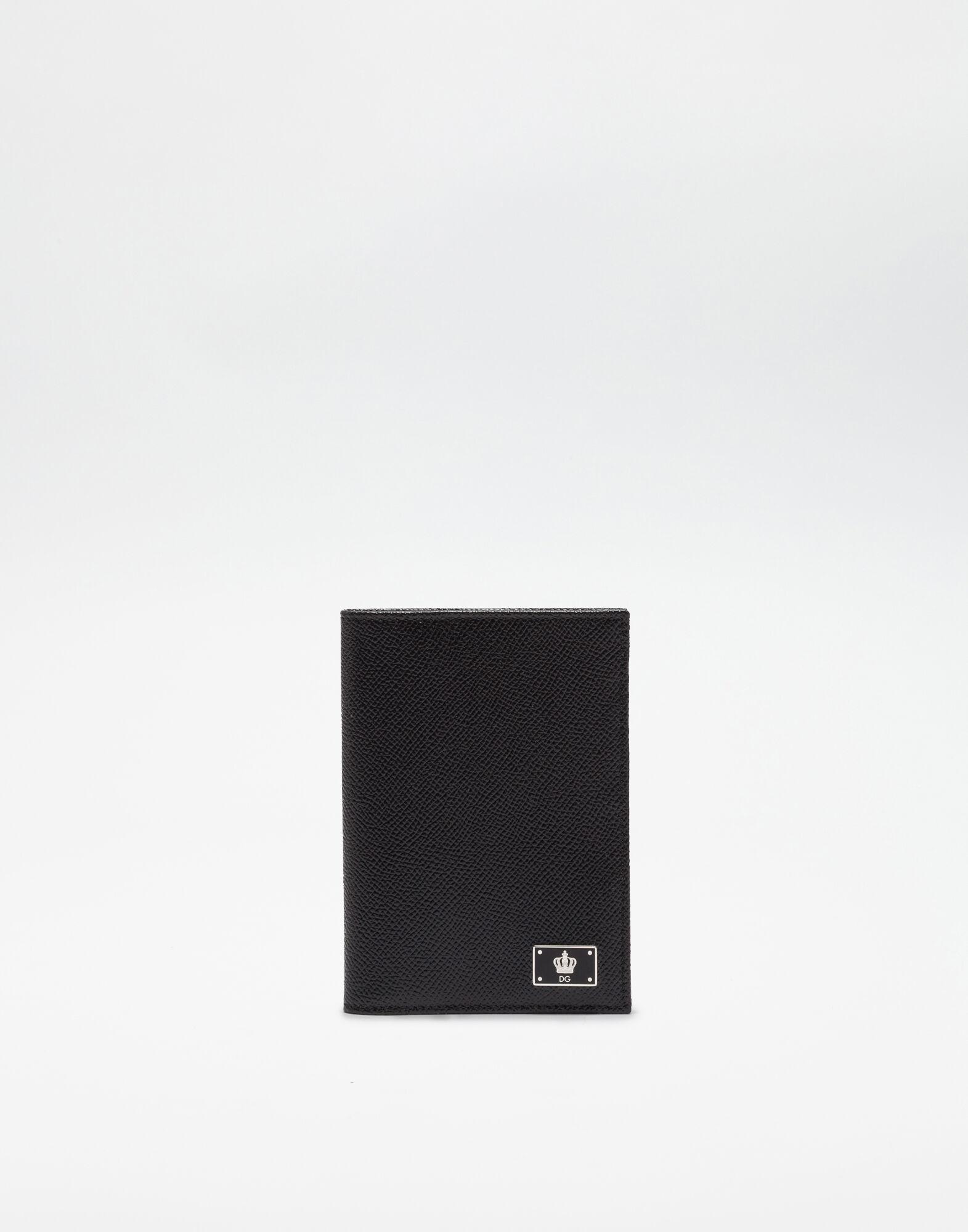 DAUPHINE LEATHER PASSPORT HOLDER