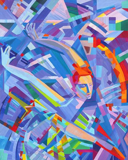 """Valeri Generosow: Bild """"Der Feuervogel"""" (2011) (Original / Unikat), ungerahmt"""
