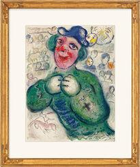 """Bild """"Der grüne Clown"""" (1967)"""