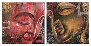 2 Buddha-Bilder im Set