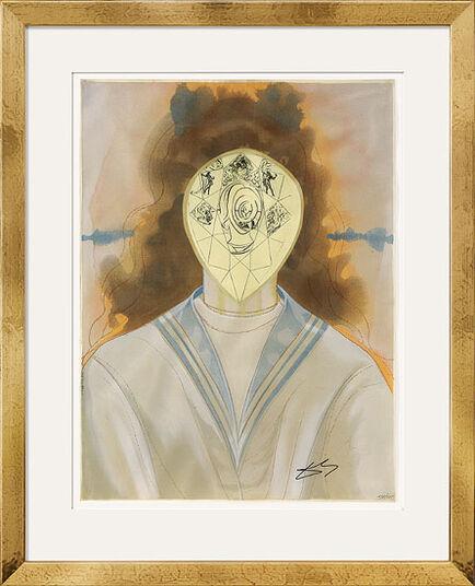 "Salvador Dalí: Bild ""L' Immortalité"" (1976)"