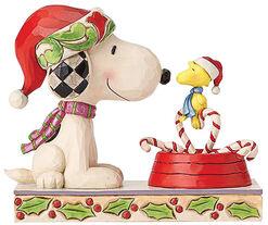 "Skulptur ""Candy Cane Christmas"", Kunstguss"