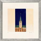 """Bild """"Rathaus"""", gerahmt"""