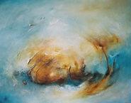 "Bild ""Stormy Waters 1"" (2006) (Original / Unikat), ungerahmt"