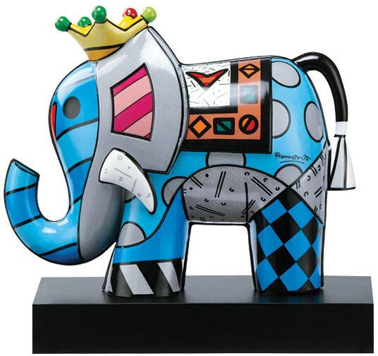 "Romero Britto: Porzellanskulptur ""Great India I"""