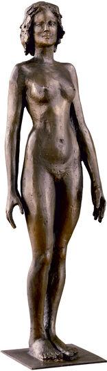 "Serge Mangin: Sculpture ""Karpathos"", Bronze"
