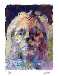 """Bild """"Johann Sebastian Bach"""" (2013)"""