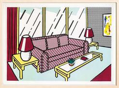 "Bild ""Red Lamps"" (1991)"