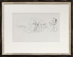 """Bild """"Danseuse allongée, tete accoudée"""" (1927) - aus der Serie """"Dix Danseuses"""""""