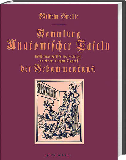 """Book reprint 'collection of anatomical plates of midwifery """""""