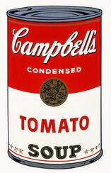 "Bild ""Campbell´s Soup (Tomato)"" (1968)"
