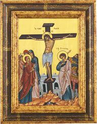 """Bildikone """"Die Kreuzigung Christi"""""""