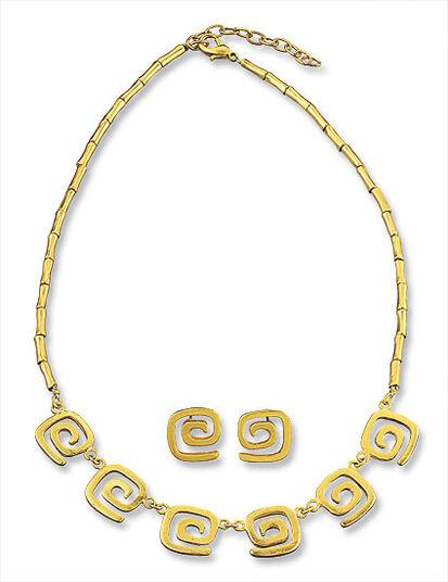 """Jewelry Set """"Snail"""""""