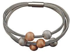"""Bracelet """"Six balls"""""""