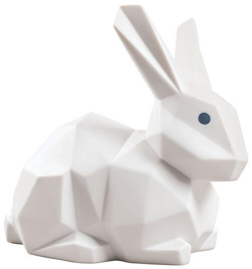 """Lladró: Porzellanfigur """"Kaninchen"""", weiße Version"""