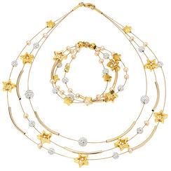 "Jewelry Set ""Starry Sky"""