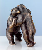 "Sculpture ""Fighting Bears"", Bronze"