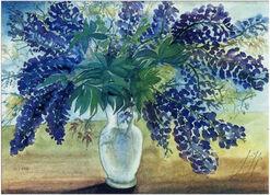 """Bild """"Blumenstrauß"""", 2001, ungerahmt"""