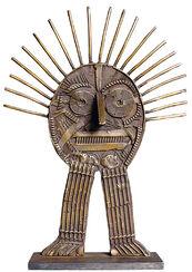 """Skulptur """"Stachelmann"""", Bronze"""