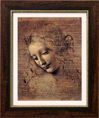 "Bild ""Frauenkopf"" (um 1508), gerahmt"