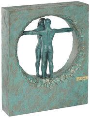 "Sculpture ""Air"", artistic metallic castings"