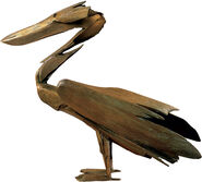 "Sculpture ""The Pelican"", bronze"