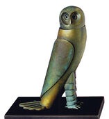 "Sculpture ""Little Owl"", bronze"