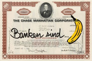 """Bild """"Banken sind Banane"""" (2012)"""