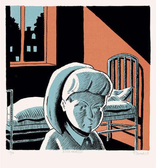 "Peter Land: Bild ""Stuearrest"" (2010)"