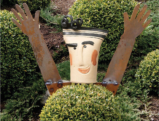 "Susanne Boerner: Garden Plug ""I Want to Laugh"""