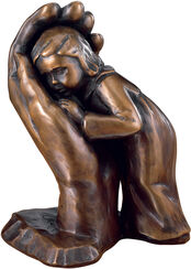 "Sculpture ""Stay his child"" (1963), bronze edition"