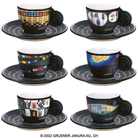 Friedensreich Hundertwasser: The Espresso Cup Collector's Edition