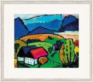 "Bild ""Blick aufs Gebirge"" (1934), gerahmt"
