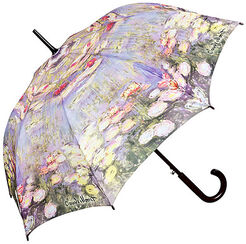 "Stick umbrella ""Water Lillies"""