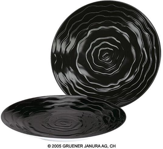 Friedensreich Hundertwasser: 6 Dessert Plates in a Set