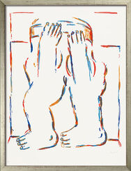 """Picture  """"Figure with Raised Arms"""" (1966)"""